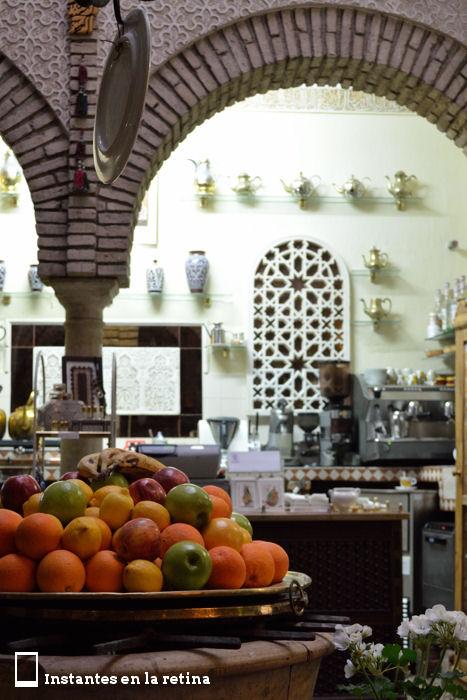 Salón de té en Córdoba