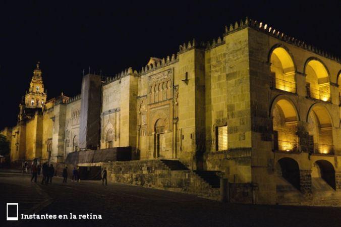 La Mezquita de noche