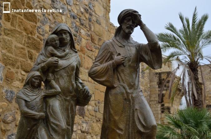 Escultura en homenaje a los musulmanes expulsados