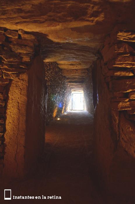 Corredor del dolmen de El Romeral