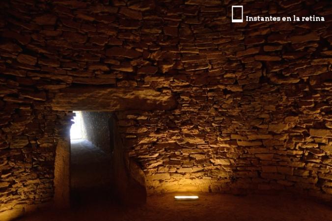 Cámara principal del dolmen de El Romeral
