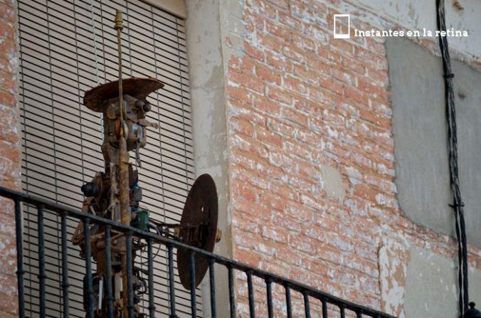 El Quijote de hojalata.