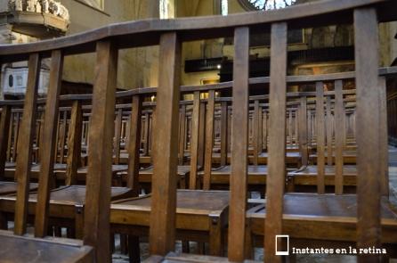 Bancos. Cathédrale St-Etienne