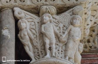 Capitel. Basilique Saint-Sernin