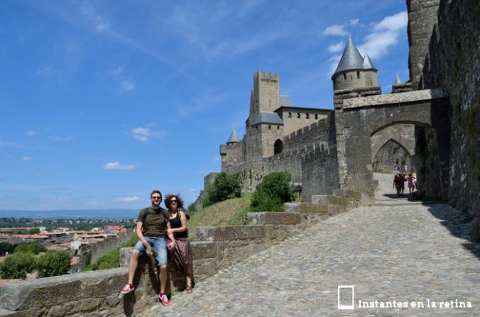 DSC_0360 Nosotros y La Cité. Carcassonne