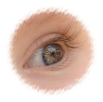 círculo ojo Kira